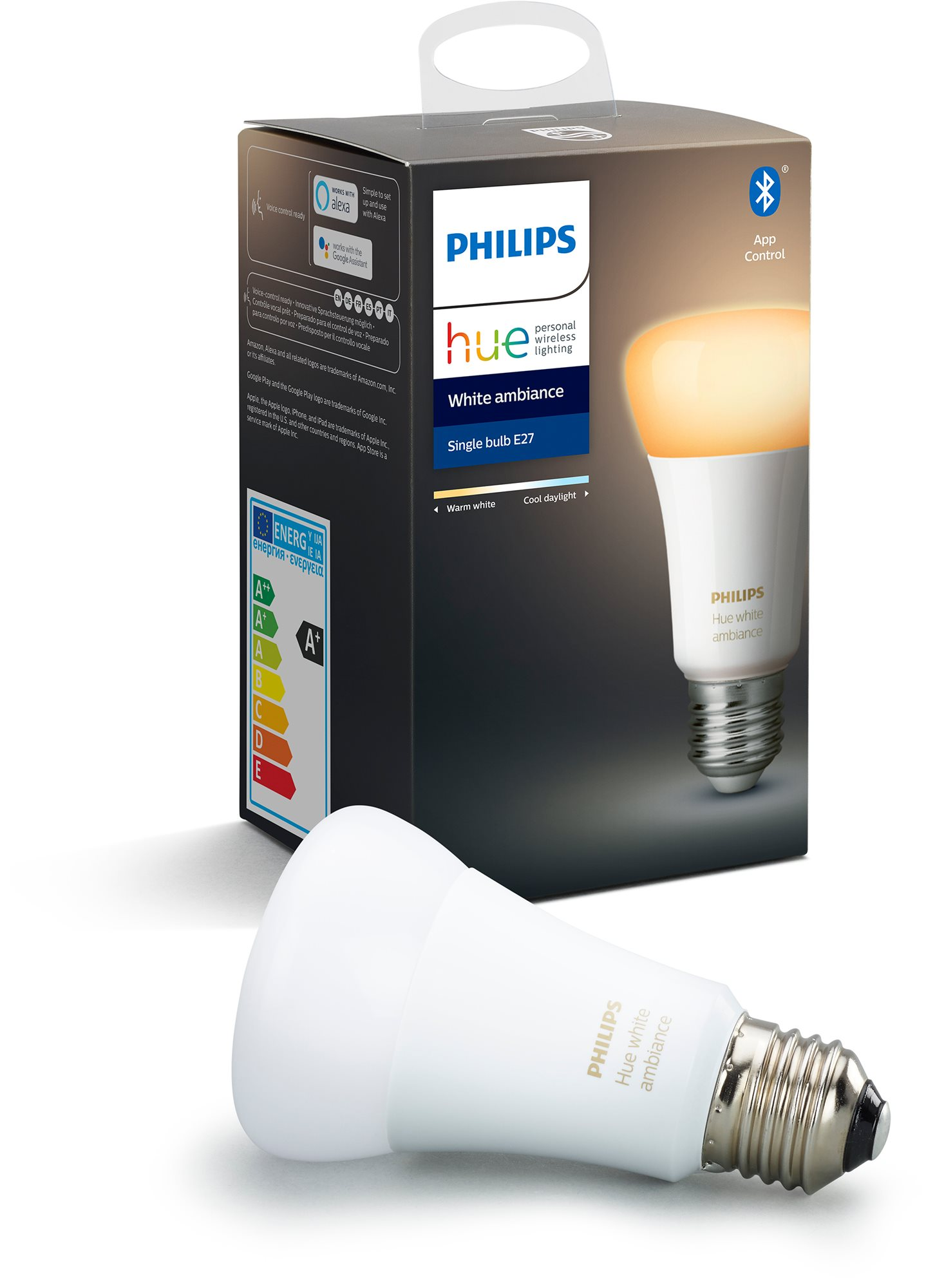 Philips Hue White Ambiance 8.5W E27