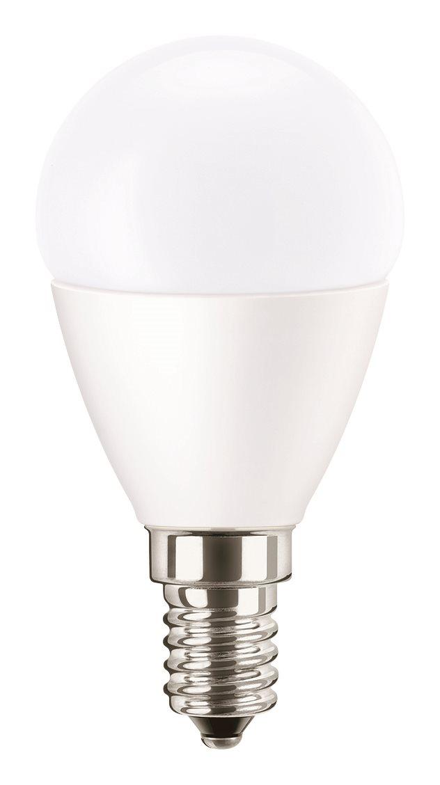 Pila LED izzó, csepp forma 3.2W-25W, E14, 2700K
