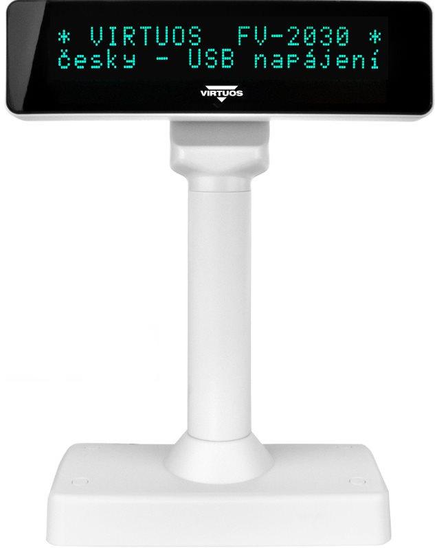 Virtuos VFD FV-2030W fehér