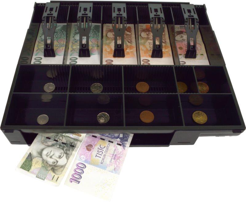 Virtuos műanyag pénz rendező
