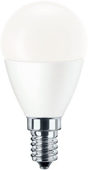 Pila LED csepp, 5.5-40W, E14, 2700K, Tejfehér