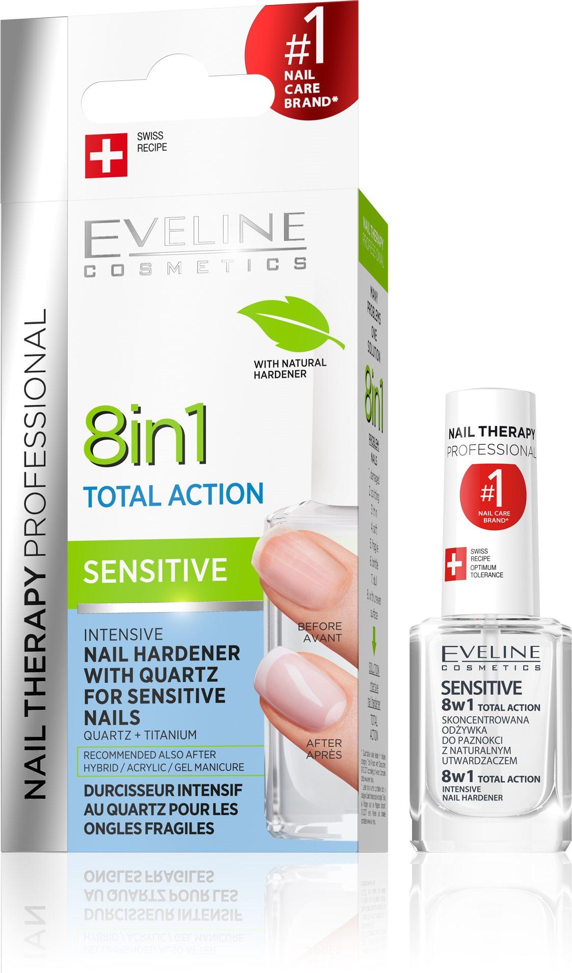 Eveline Cosmetics Nail Spa 8in1 Sensitive 12 ml