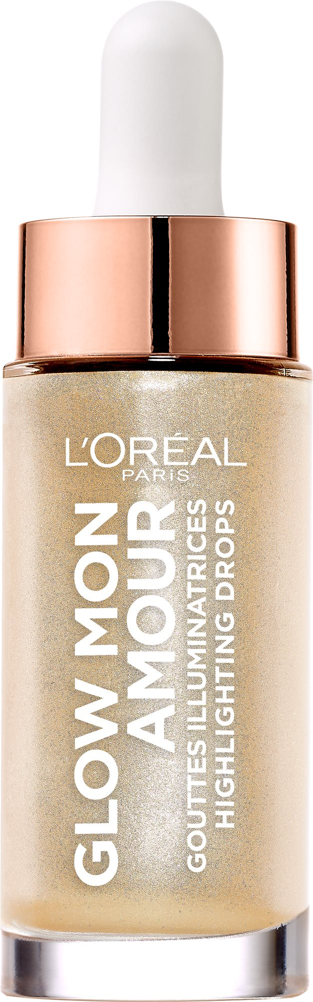 ĽORÉAL PARIS Wake Up & Glow Mon Amour Highlighting Drops 01 Champagne 15 ml