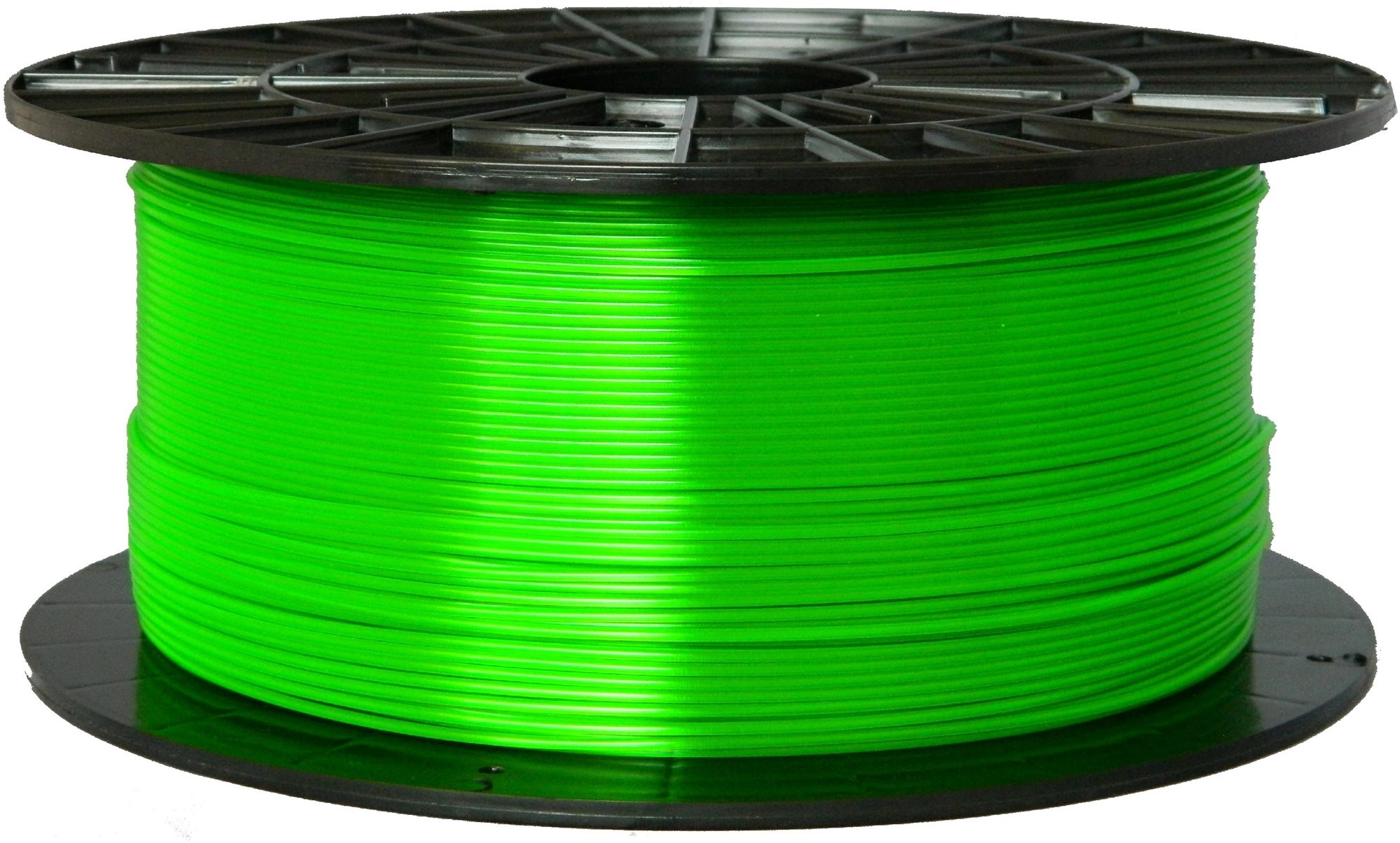 PLASTY MLADEČ 1.75mm PETG 1kg átlátszó zöld