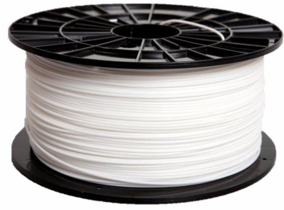 PLASTIC YELLOW 1.75mm, PETG 1kg, fehér