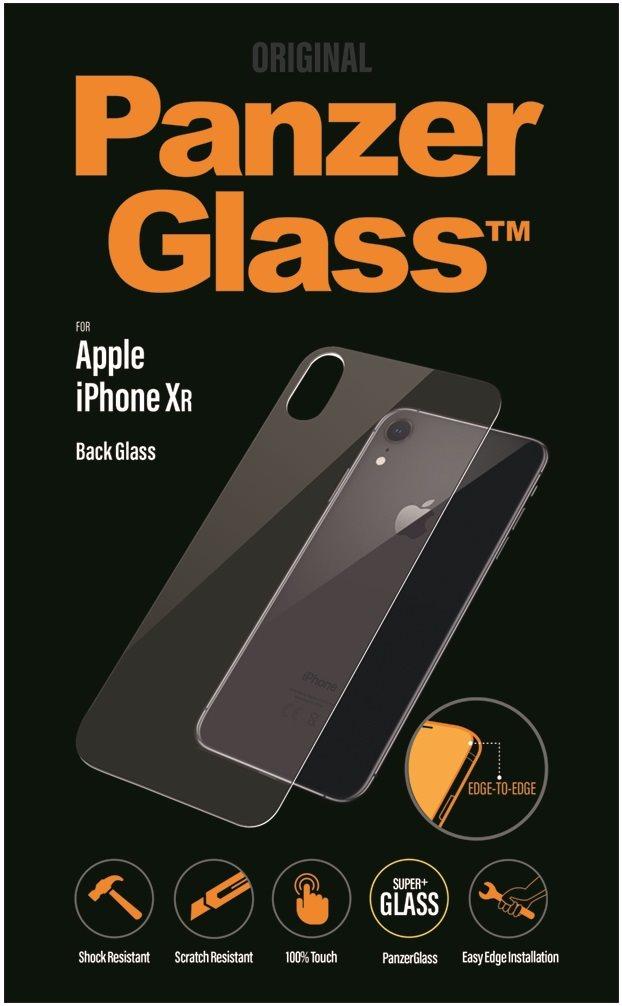 PanzerGlass Edge-To-Edge Apple iPhone Xr készülékhez, hátsó, víztiszta