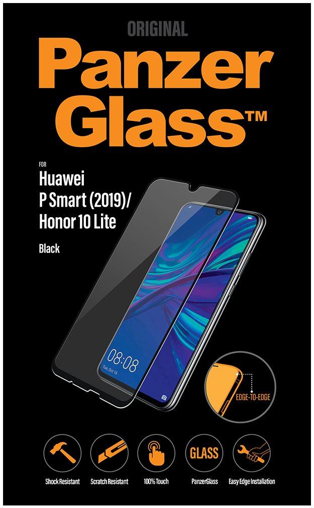 PanzerGlass Edge-to-Edge Huawei P Smart (2019) Honor 10 Lite készülékhez, fekete