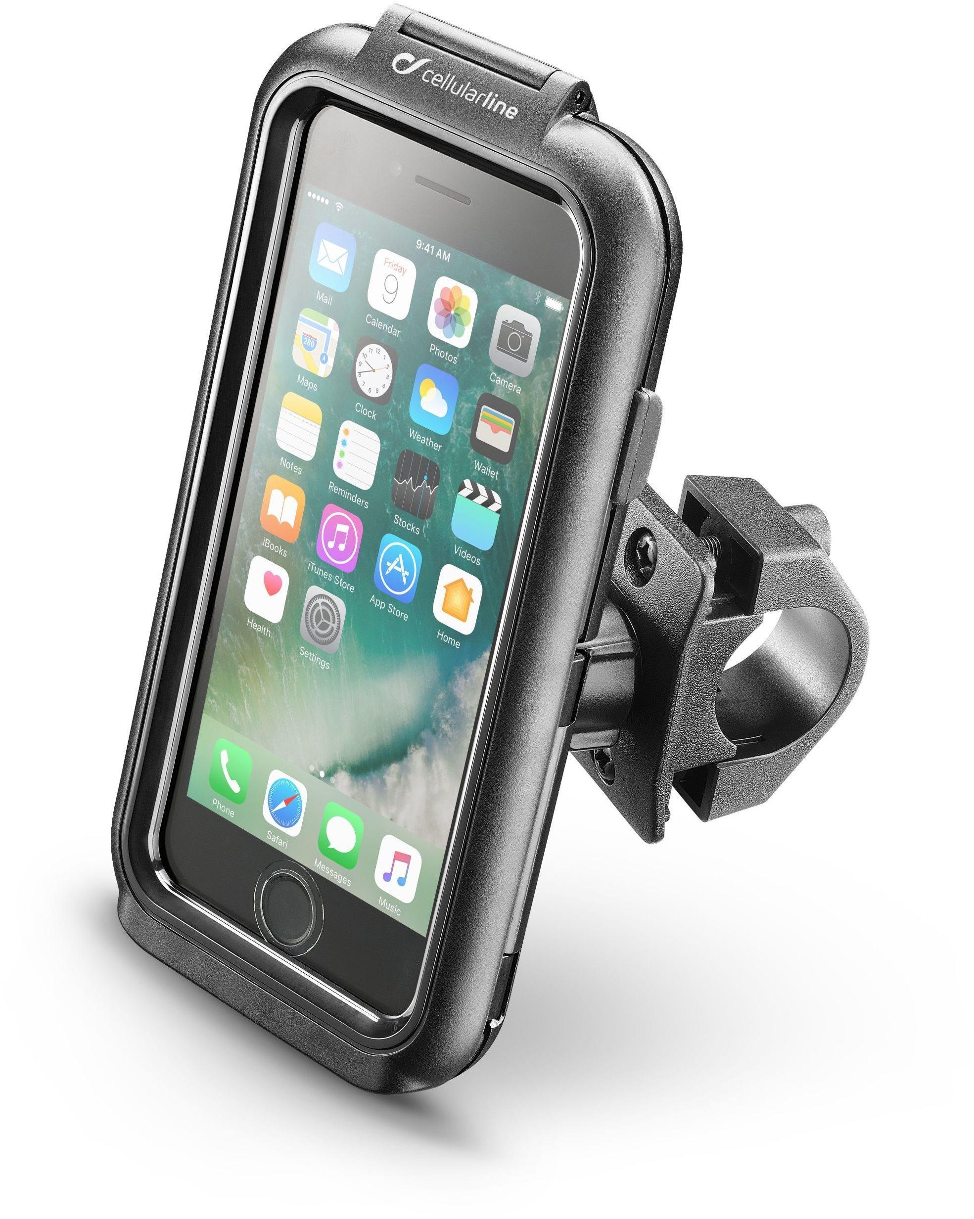 Interphone Apple iPhone 8/7/6/6S készülékhez, fekete