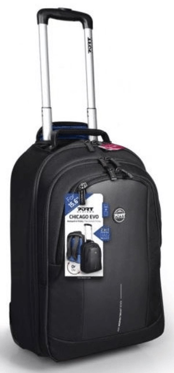 PORT DESIGNS CHICAGO EVO BACKPACK TROLLEY 15