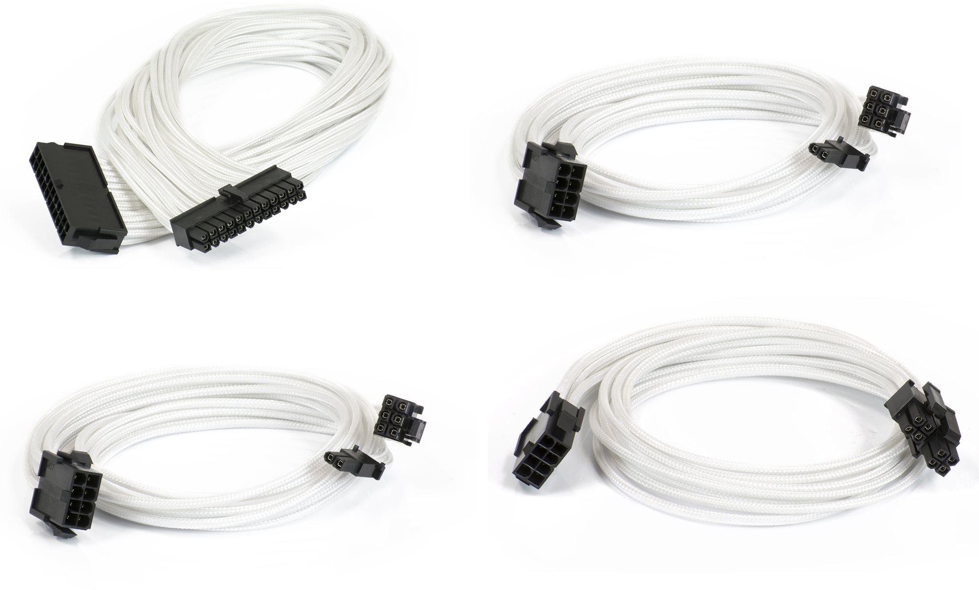 Phanteks hosszabbító kábel szett - fehér