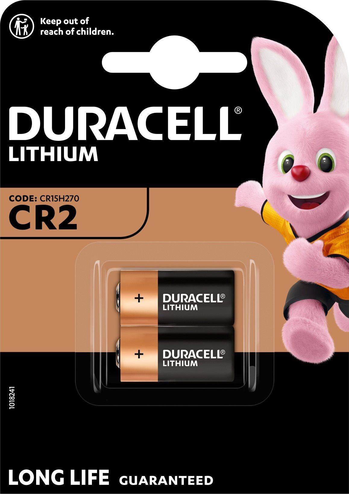 Duracell Ultra CR2 2 db