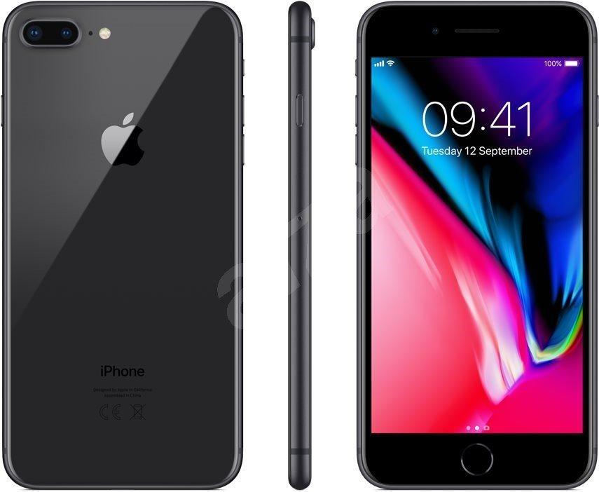 iPhone 8 Plus 128GB, asztroszürke