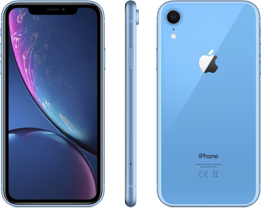 iPhone Xr 64GB kék