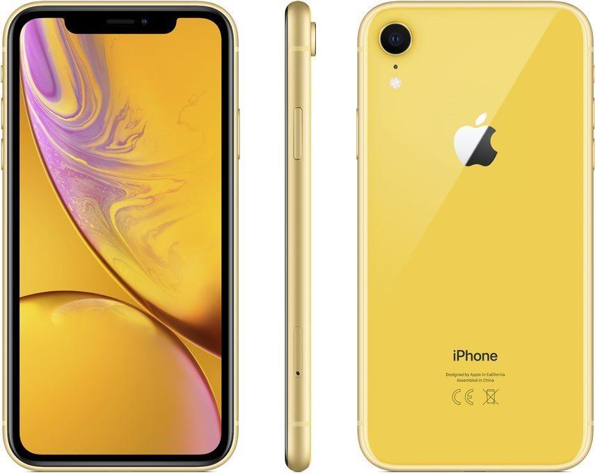 iPhone Xr 64 GB sárga
