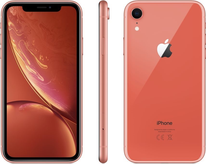 iPhone Xr 128 GB Korall