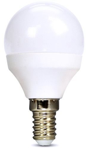 Solight miniglobe LED izzó E14 6W 4000K