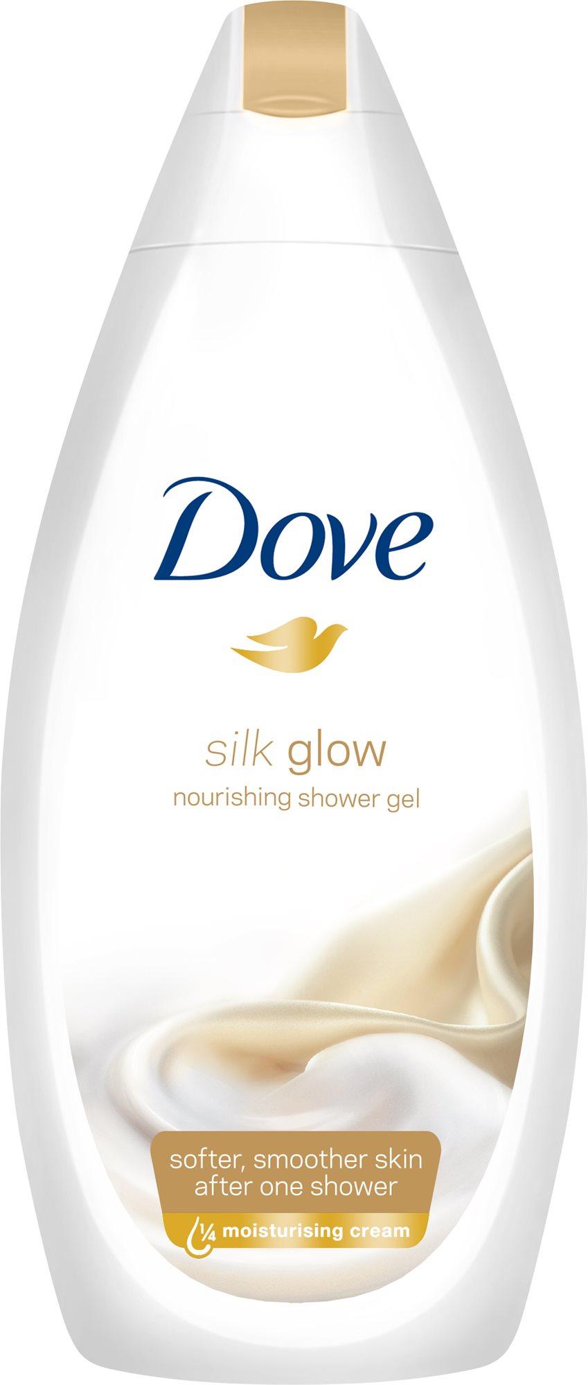 DOVE Fine Silk ápoló habfürdő 500 ml