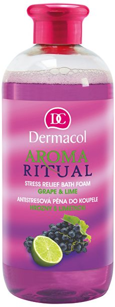 DERMACOL Aroma Ritual habfürdő Szőlő & Lime 500 ml
