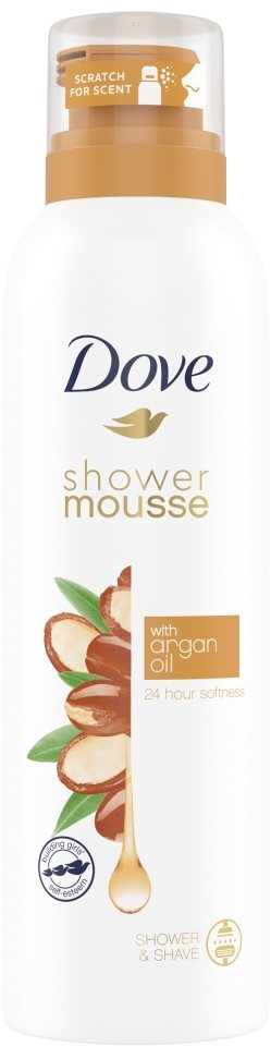 DOVE Argan Oil Shower Mousse 200 ml