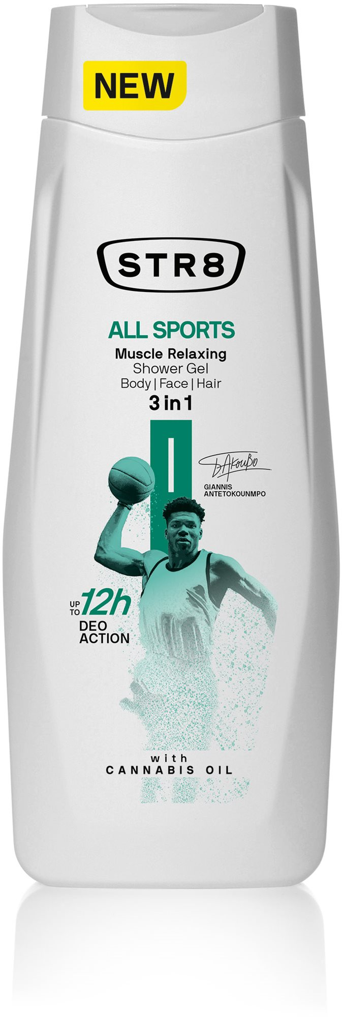 STR8 All Sports Shower Gel (400 ml)