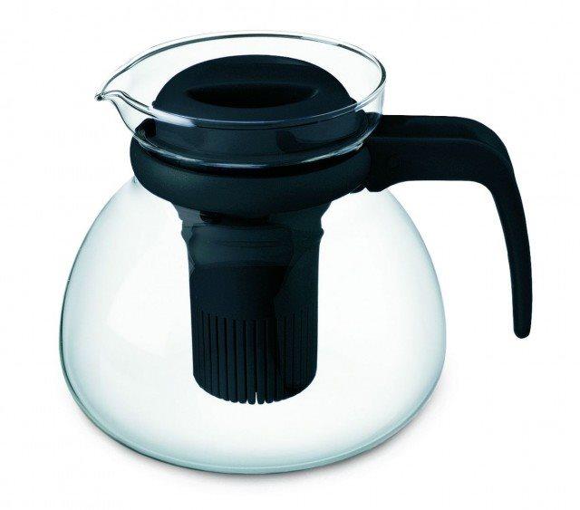 SIMAX Kavalier SVATAVA teáskanna műanyag szűrővel 1,5 l
