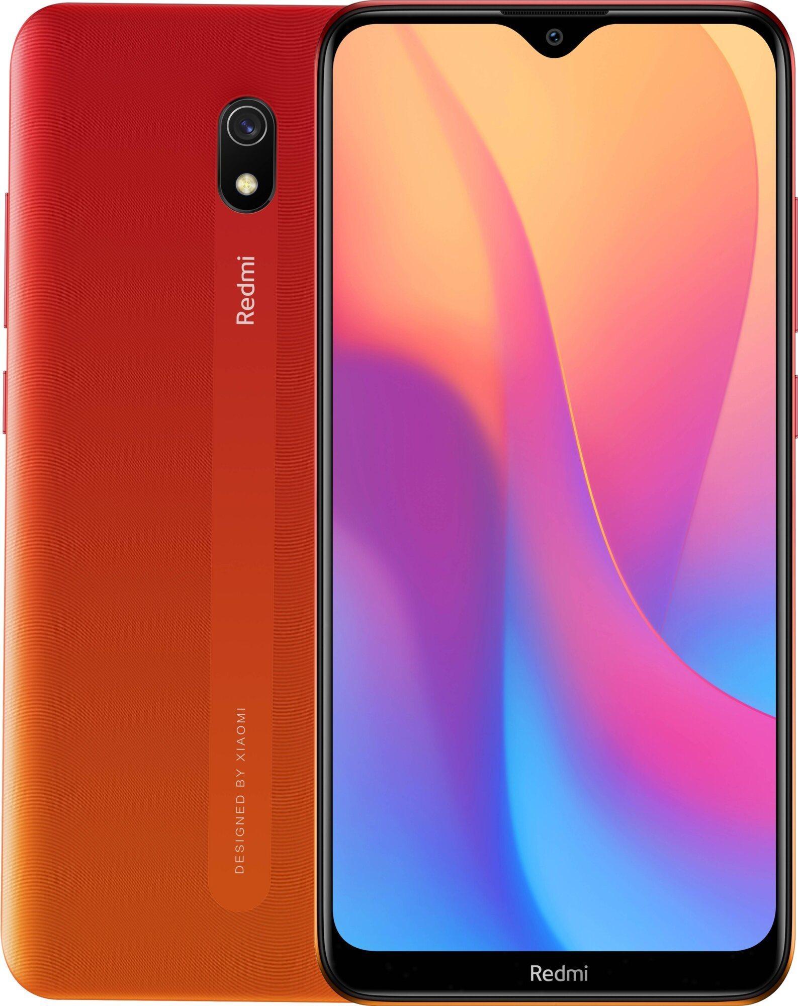 Xiaomi Redmi 8A LTE 32GB - piros