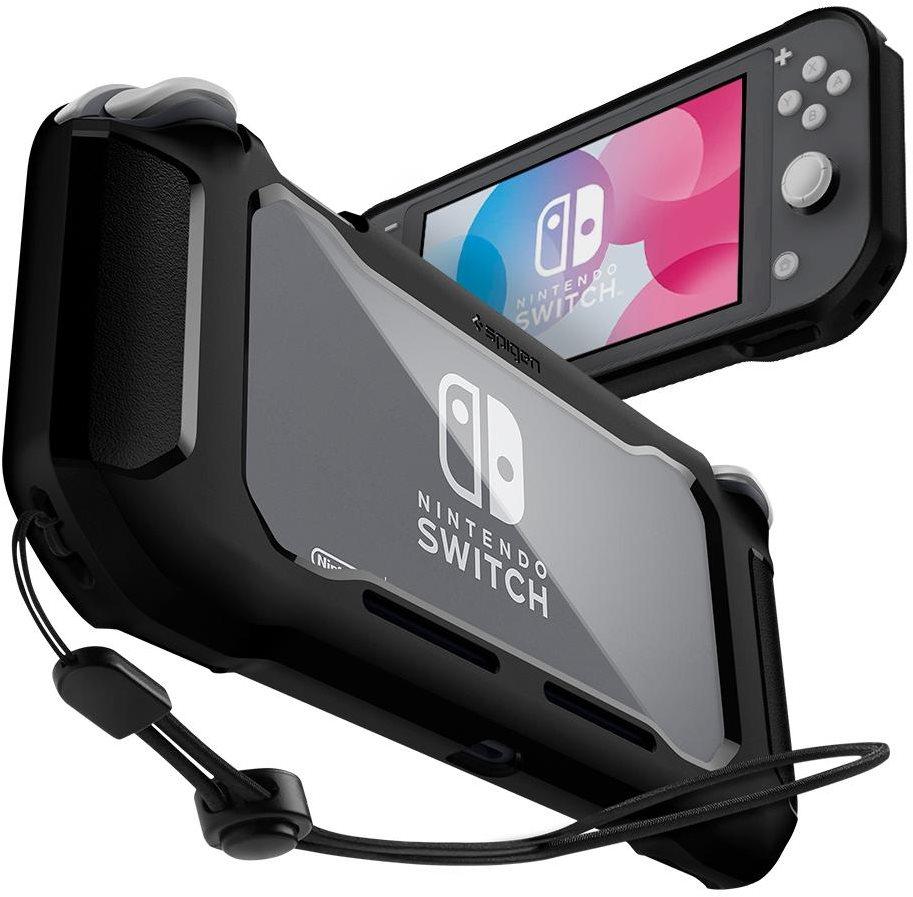 Spigen masszív páncél fekete Nintendo Switch Lite