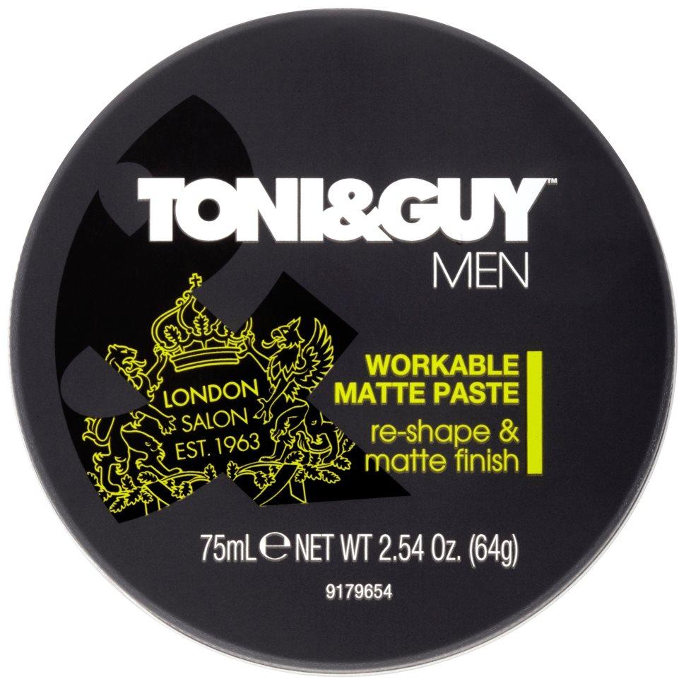 TONI&GUY Men Workable Matte Paste 75 ml