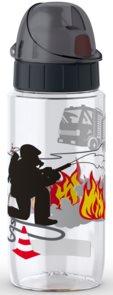 Tefal DRINK2GO tritán palack 0,5 l fekete-tűzoltós