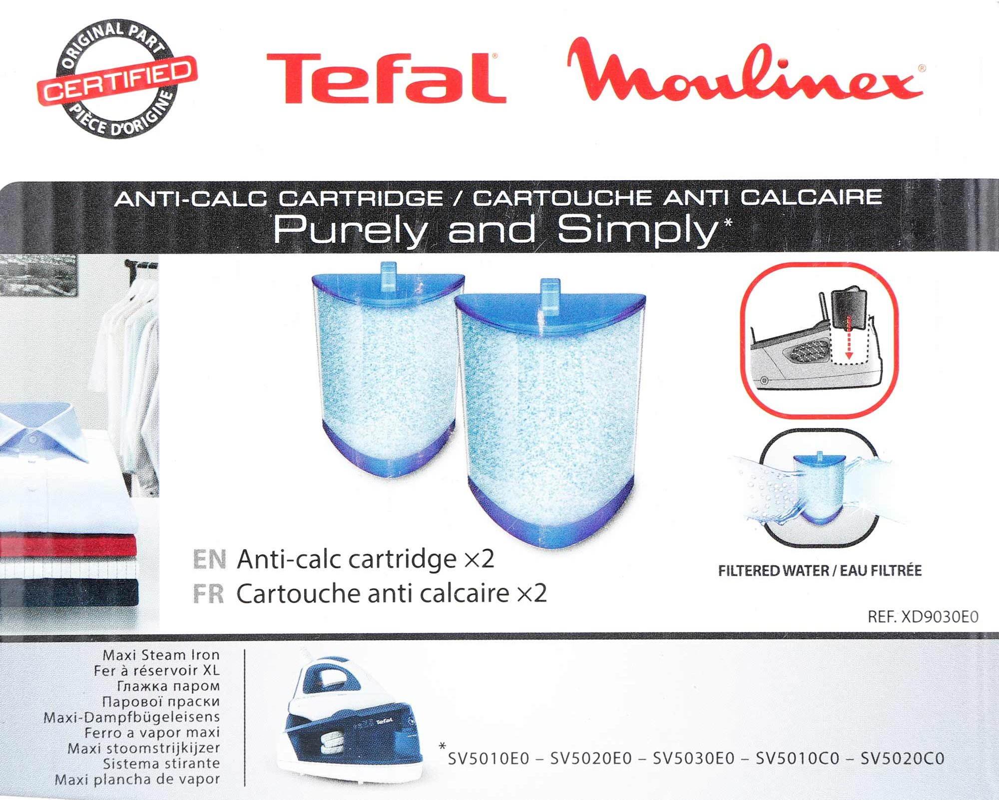 Tefal XD9030 Anti Calc Cartridge
