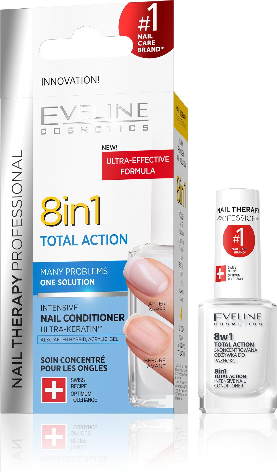 Eveline Cosmetics Nail Spa  8in1 hatással 12 ml