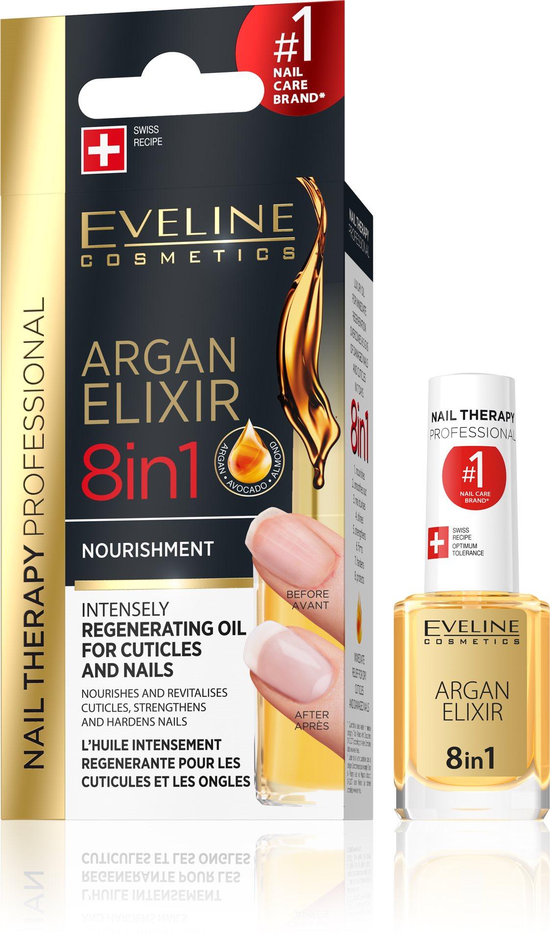 EVELINE Cosmetics Nail Spa körömágy ápló argan olajjal 12 ml
