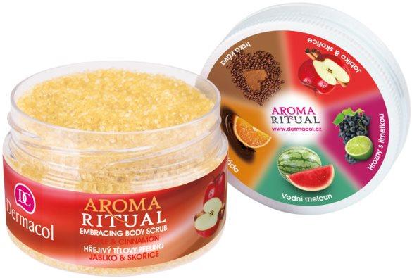 DERMACOL Aroma Ritual testradír - alma és fahéj 200 g