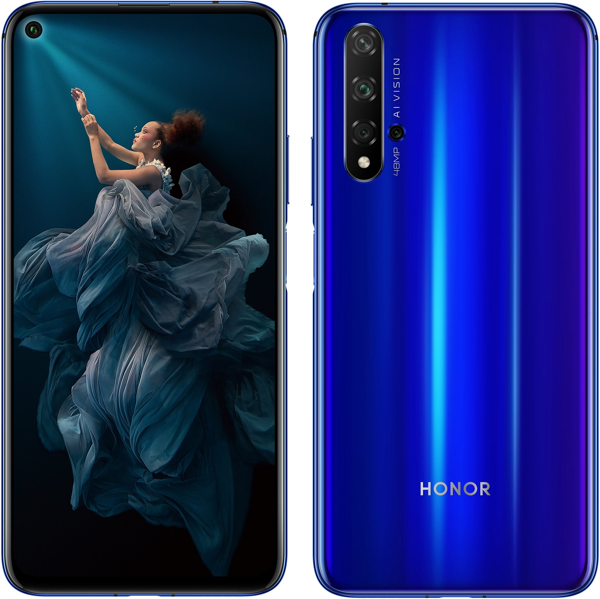 Honor 20 kék