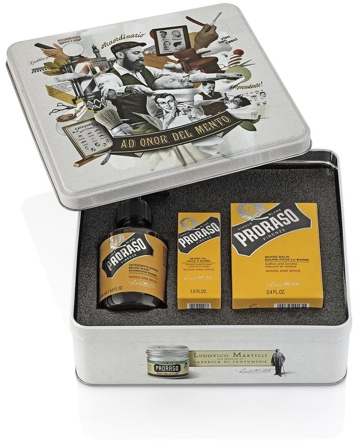 PRORASO Wood and Spice Set