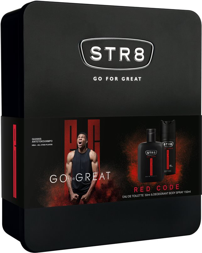 STR7 Red Code EdT szett