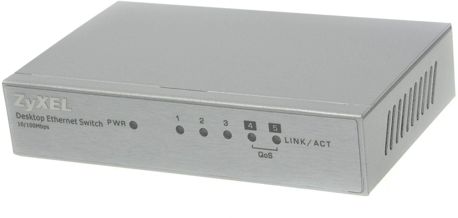 ZyXEL ES-105A v3 (fém burkolat)