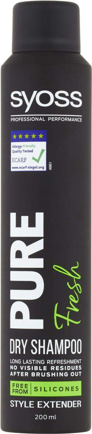 SYOSS Pure Fresh Dry Shampoo 400 ml