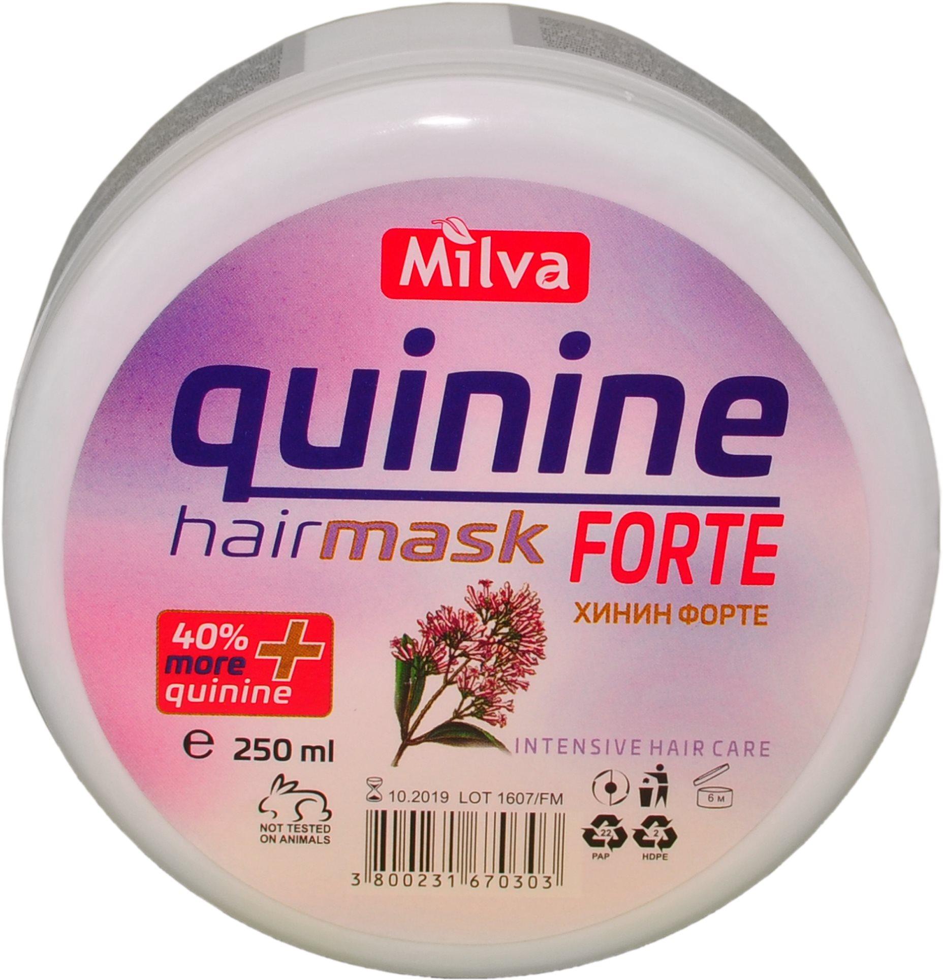 MILVA Kinin maszk Forte 250 ml