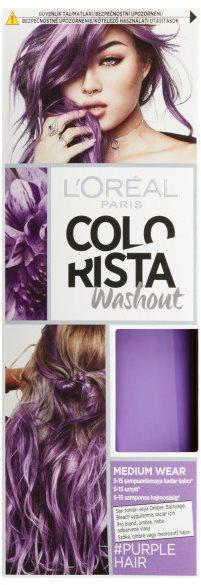 ĽORÉAL PARIS Colorista Washout Semipermanent 5 #Purplehair 80 ml