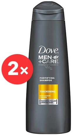 DOVE Men+Care Thickening  2 × 400 ml