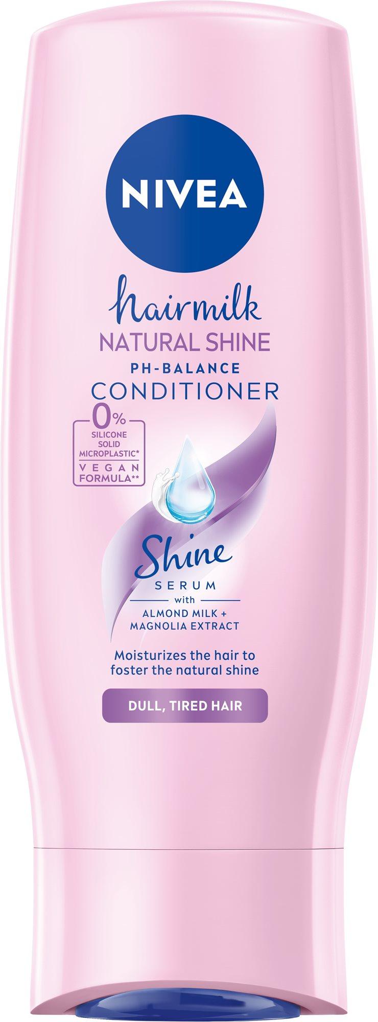 NIVEA Hairmilk Shine Conditioner 200 ml