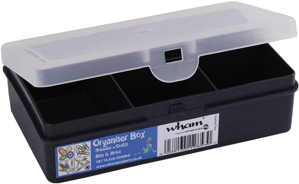 Wham Szervező 14,5x9,5x4 cm fekete 12800
