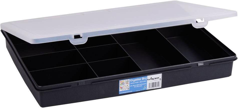 Wham tároló doboz 38x30x5cm fekete 12890
