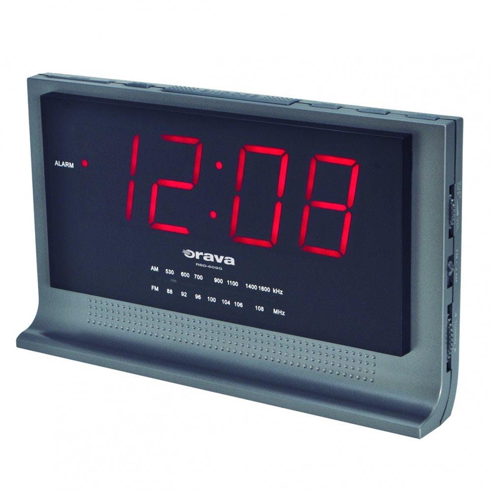 Orava RBD-609G rádiós ébresztőóra