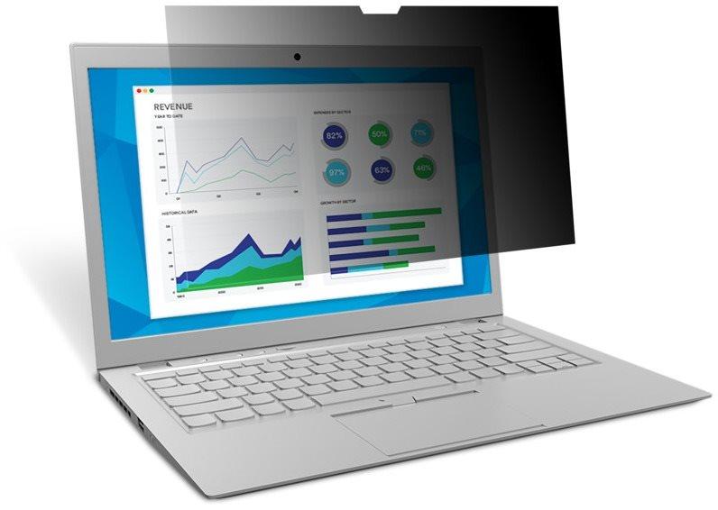 3M Képernyővédő laptopokhoz 13.3'', 16: 9, fekete
