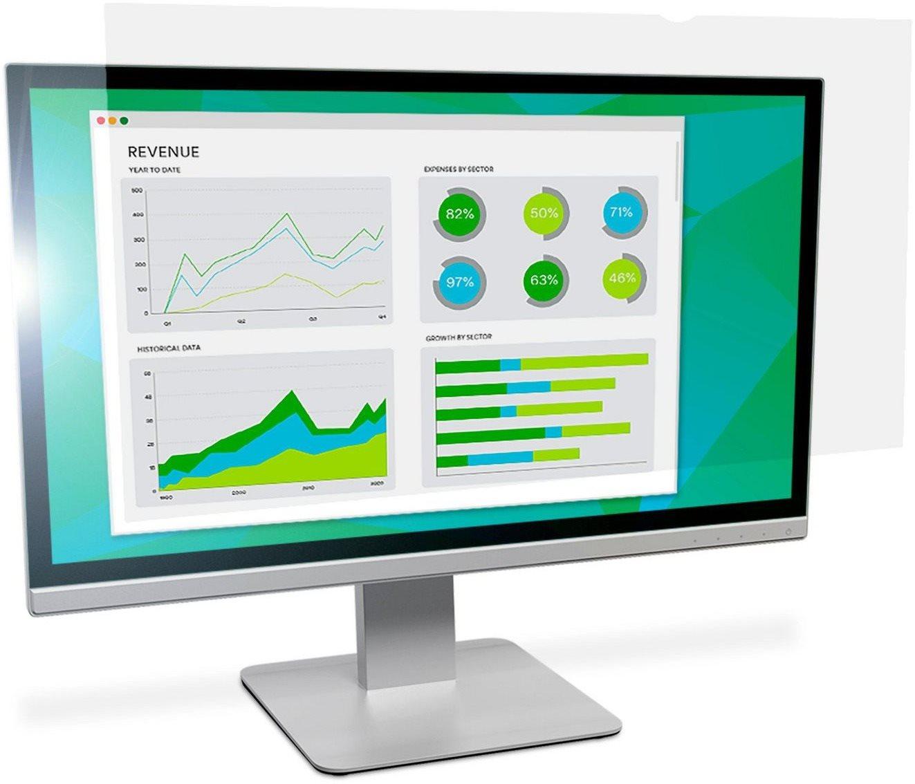 """3M-os LCD-képernyő 21,5""""szélesvásznú 16: 9, tükröződésmentes"""