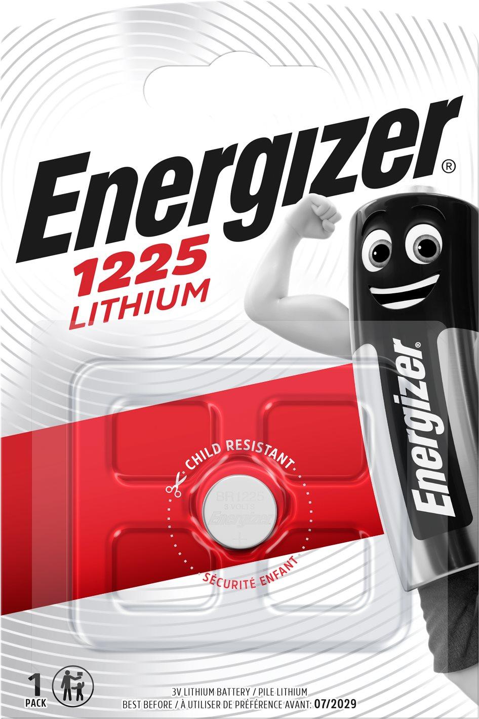 Energizer Lithium gombelem CR1225