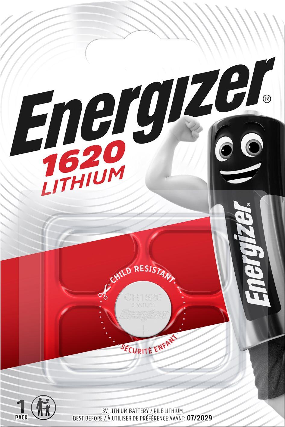 Energizer Lítium gombelem CR1620