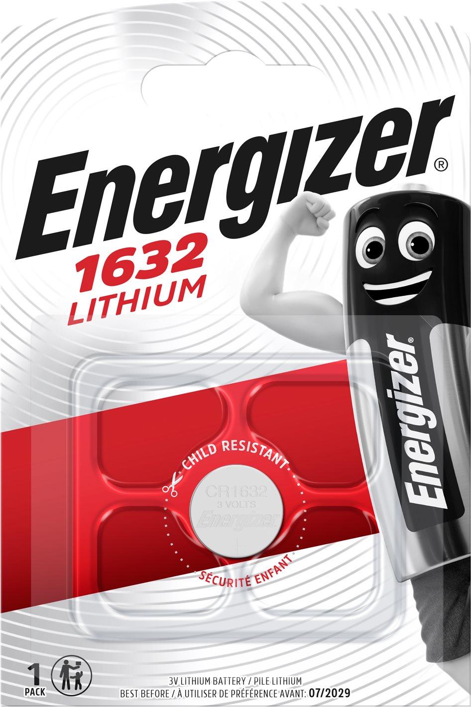 Energizer Lítium gombelem CR1632